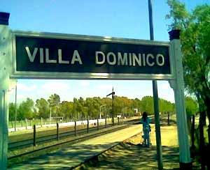 Estación dev tren de Villa Dominico, Partido de Avellaneda, Provincia de Buenos Aires, Argentina