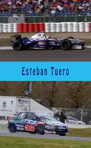Esteban Tuero corriendo en categorías internacionel y en otras de Argentina, figura del automovilismo argentino
