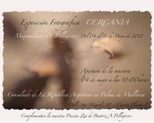 """Exposición de fotografías """"Cercanías"""" en Consulado de Argentina en Palma de Malloca, Islas Baleares, España"""
