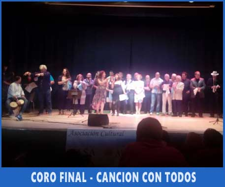 Cierre del Festival Argentino de Vigo, por el Día de la Independencia, Aufitorio de Teis, Julio 2017