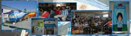 Actividades de la Asociación Argentinos de Elche, Alicante, España