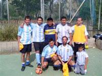 Equipo argentino de la Casa Argentina de Tenerife, Islas Canarias, España. Participa en el campeonato local de equipos de asociaciones de inmigrantes