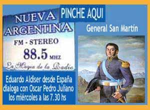 Monográfico sobre el General San Martín realizado por Eduardo Aldiser desde España