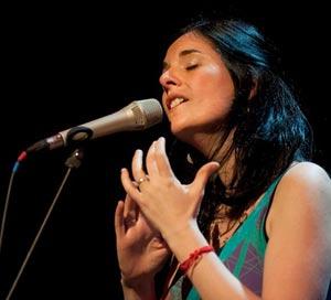 La cantante argentina Georgina Hassan