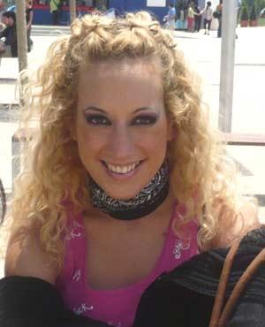 Giselle Velasco, bailarina y coreógrafa argentina que reside actualmente en Bruselas, Bélgica