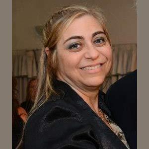 Gladys Bertolez, profesional argentina de la ciudad de Córdoba, residente en Tarragona, fundandora y presidenta de la Casa Argentina de Tarragona