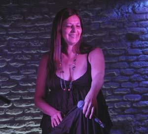 La cantante argentina de tango Graciela Giordano,residente en Madrid, España