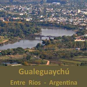 Ciudad de Gualeguaychú, Provincia de Entre Ríos, Argentina. Con un carnaval y un teatro centenario famosos
