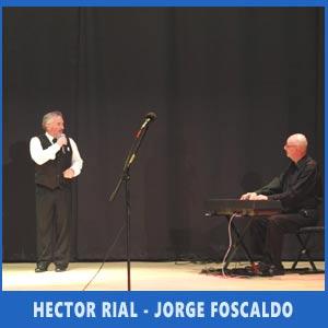 Pasional Tango con Héctor Rial y Jorge Foscaldo en el Festival de los Argentinos en Vigo, 8 de julio de 2017