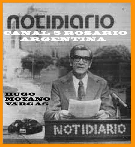 Cabecera del Noridiario que presentaba de lunes a viernes, al mediodía, Hugo Moyano Vargas en Canal 5 de Rosario. Durante tres años, en los 70, lo patrocinó Maipú Car, con la locucción de Eduardo Aldiser y la producción de Studio Simeoni
