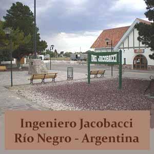 Localidad de Ingeniero Jacobacci, Provincia de Río Negro, Argentina. Con el ferrocarril como razón de ser