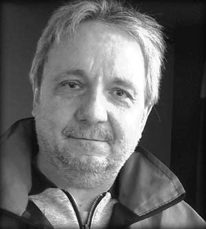 """José Alberto Vatalaro, Buqui, escritor y porta rosarino, autor del libro """"A suerte y verdad"""""""