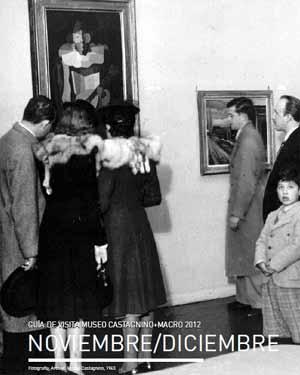 Portada del Catálogo Noviembre-Diciembre 2012 del Museo de Bellas Artes Juan B. Castagnino, Rosario, Argentina