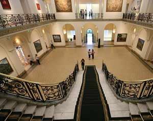 Vistas de salas del Mueseo de Bellas Artes Juan B. Castagnino de Rosario, Argentina. Institución fundada en 1937 que está celebrando su 75º aniversario
