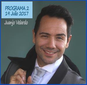 Segundo programa con Eduardo Aldiser, desde España, de Juanjo Velardo, en Radio Nueva Argentina de Ituzaingó, Buenos Aires, Argentina