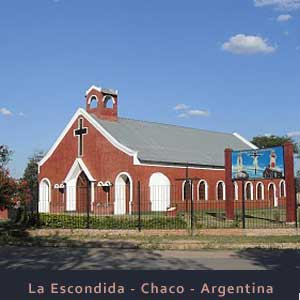 Localidad de La Escondida, Provincia de Chaco, Argentina