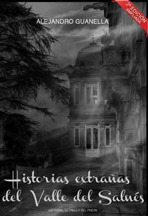 """Portada del libro """"Historias extrañas del Valle del Salnés"""" del humorista y escritor argentino Alejandro Guanella"""