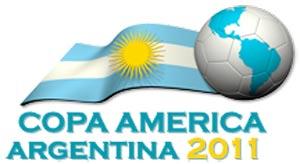 Logotipo de la Copa América Argentina 2011 de Futbol. El clásico sudamericano del futbol donde Argentina ha tenido y tiene siempre un gran protagonismo