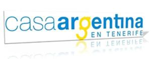Logotipo de la Casa Argentina en Tenerife, Islas Canarias, España