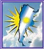 Logotipo de la Agrupación Martín Fierro de Valencia, España. Asociación argentina en la ciudad capital de la Comunidad Valenciana.