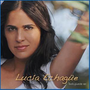 """Portada del disco """"Todo puede ser"""" de la cantante argentina Lucía Echagüe que reside en Lisboa"""