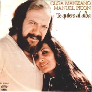 Olga Manzano, argentina, y Manuel Picón, uruguayo, un dúo con grandes éxitos en España