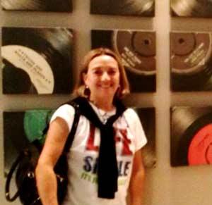 Marina Lalli, odontóloga argentina con clínica en Coruña, Galicia, España