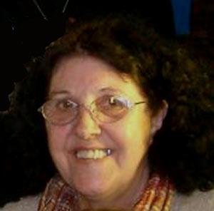 """Martha Piccat, poeta argentina que nació y vive en General Baldissera, Provincia de Córdoba, autora del poemario """"Tu costado"""""""