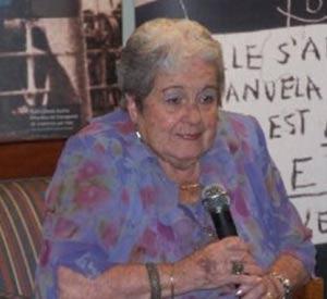 Maruxa Boga, actríz y comunicadora argentina, de origen gallego