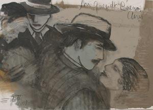 Obra de la pintora argentina Elena Gatti, nacida en Saavedra, Provincia de Buenos Aires