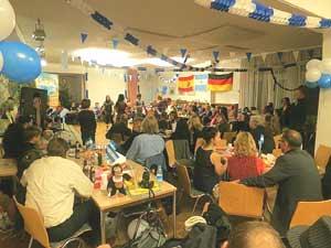 Navidad en Alemania. Celebración de la asociación argentio alemana CAARNE e. V. en Berlín, año 2012