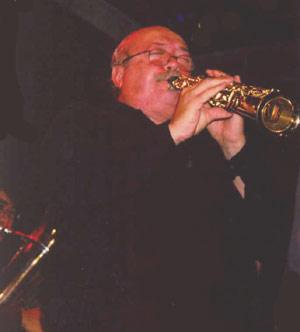 """Dr. José Ignacio Mazzanti, el popular """"Negro Mazzanti"""" de la orquesta argentina """"La Porteña Jazz Band"""""""