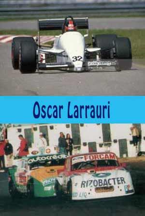 Vemos a Larrauri corriendo Fórmula Uno en Europa y categorías locales en Argentina