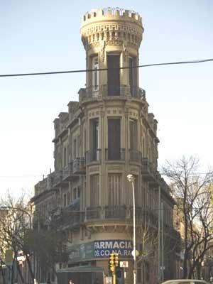 El Castillo de La Boca en Buenos Aires, Argentina