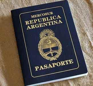 Pasaporte de los ciudadanos de la República Argentina