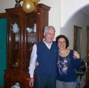 César Tamborini Duca y su esposa, Patricia, compatriotas argentinos residentes en Velleguina del Órbigo, León, España