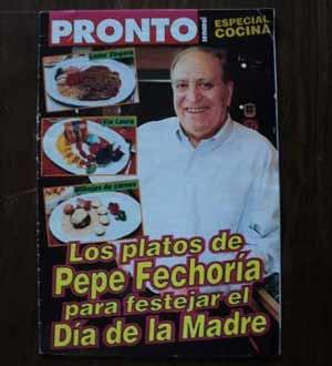 Restaurante Fechoría de Pepe Fernández, en Buenos Aires, Argentina. Pepe fue un destacado dirigente del Club Independiente de Avellaneda
