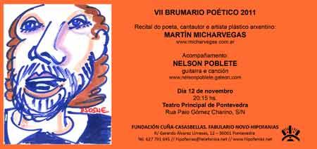 Presentación de Poni Micharvegas en Pontevedra, España