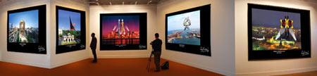 Exposición del escultor argentino Rego Curten de obras digitales
