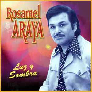 Uno de los muchos y exitosos discos de Rosamel Araya, cantante chileno que vivió y murió en Buenos Aires, Argentina