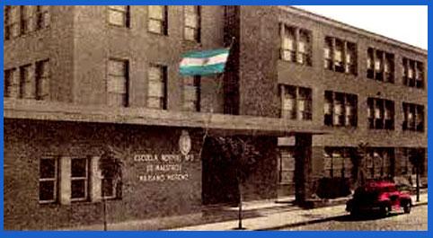 Edificio de la ahora Escuela Normal Superior Nº 3 - Provincial Nº 36 Mariano Moreno de Rosario, Santa Fe, Argentina