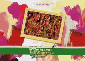 Presentación de la muestra pictórica de Roxiere, artista argentina que vive en Colorado,  inspirada en Jackson Pollock y Astor Piazzolla