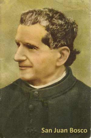 Fotografía de San Juan Bosco, en manos de los descendientes de la misma familia Bosco proveniente de Vilanoba D´Asti, que poblaron e hicieron posible el nacimiento del pueblo de General Baldissera, en la provincia de Córdoba, Argentina, en 1897