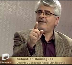 """Sebastián Domínguez, profesor de guitarra y realizador del programa especializado en este instrumento """"De Segovia a Yupanqui"""" en LRA Radio Nacional de Argentina"""