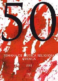 Cartel de la 50 Semana de la Música Religiosa de Cuenca, España