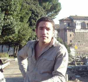 El cantor argentino de tango Sergio Veloso
