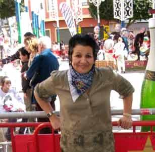 Susana Lagos, cantante y locutora argentina residente en Alberic, Valencia, España