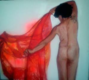 Obra de la pintora argentina Susana Negri, que reside en el Penedés de Cataluña