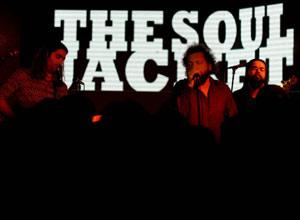 """Conjunto """"The Soul Jacket"""" del que forma parte el guitarrista uruguayo Guillermo Gagliardi, entrevistado por www.argentinamundo.com"""