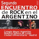 Rock y cine con coloquio en Colegio Mayor Argentino de Madrid